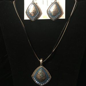 """""""Dreamer"""" Necklace and Earrings by Premier Designs"""